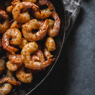Garlic Shrimp.