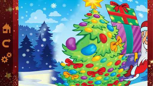 Christmas Color & Scratch for kids & toddlers ☃ 2018.24 screenshots 9