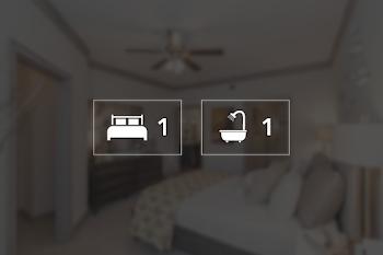 Go to One Bed, One Bath Senior Floorplan page.