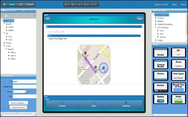 AppMint Lite: HTML5/jQuery Mobile App Builder
