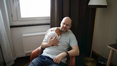Photo: Beim Papa