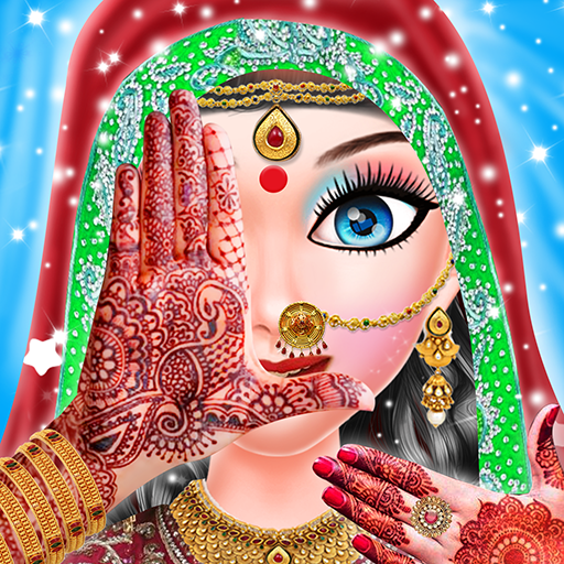 Indian Wedding Girl Makeup And Mehndi (game)