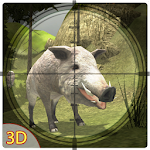 3D Wild Boar Hunter Simulator Icon