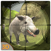 3D Wild Boar Hunter Simulator