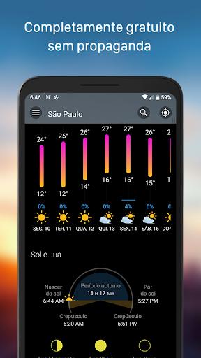 Clima & Widget - Weawow (Previsão do tempo) screenshot 3