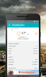 AccuWeather: miniatura de captura de pantalla