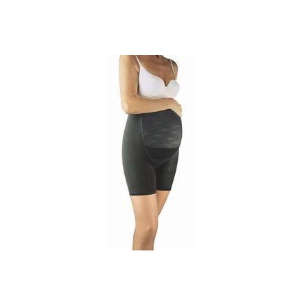 Maggördel för gravida - Panty Maman 12 mmHg (Svart/L)