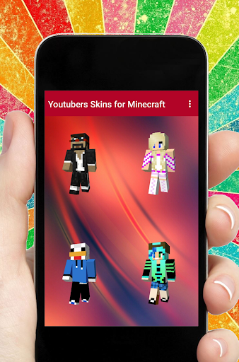 Skins Youtubers for Minecraft for PC
