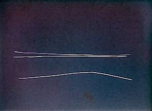 Photo: Étude sur la vitesse de la lumière © Olivier Perrot Photogramme 2011 03 série B