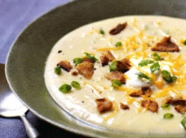 Fully Loaded Baked Potato Soup Recipe