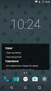 Stuff - Todo Widget Screenshot
