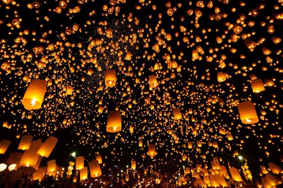 Yee Peng Festival (Loy Krathong)