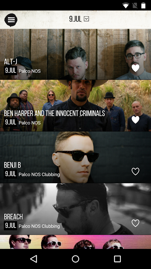 NOS Alive- screenshot