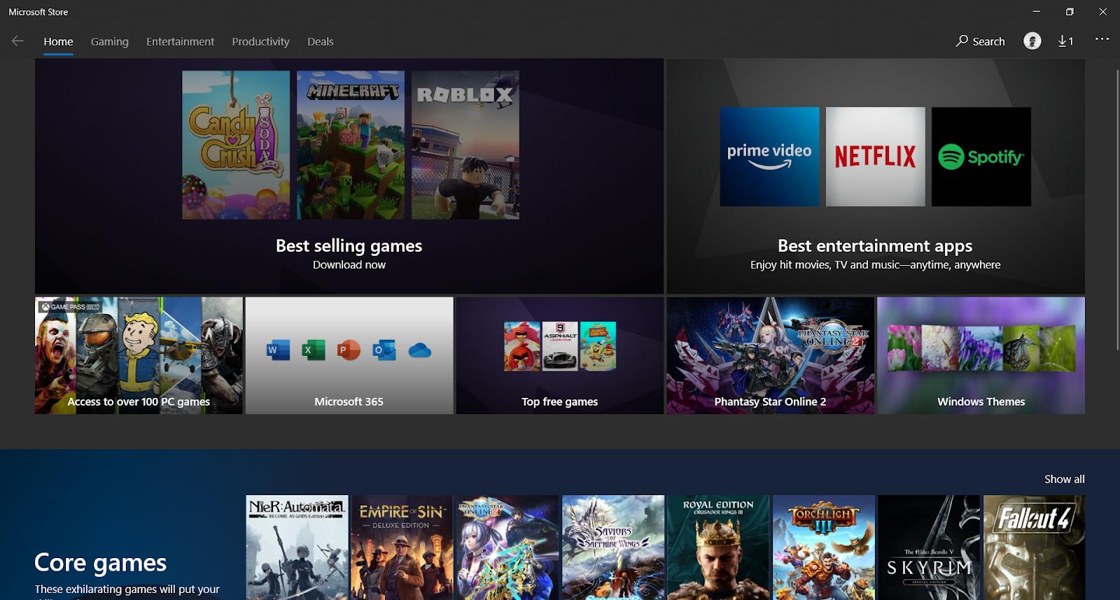 Microsoft store - Runtime Broker in Windows 10