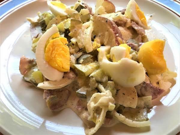 Dutch Potato Salad - Huzarensalade Recipe