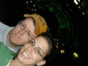 Photo: Curt & Teresa at the Eiffel Tower