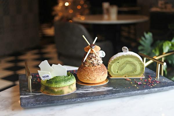桃園|Noir coffee&bistro在舒適的咖啡廳享用精緻美味的抹茶甜點
