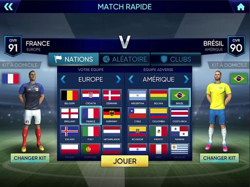 Coupe du monde de football 2020: Ultimate League astuce APK MOD capture d'écran 1