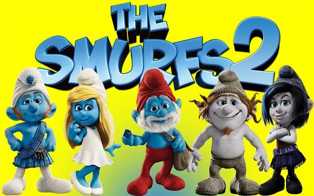 The Smurfs Theme & New Tab