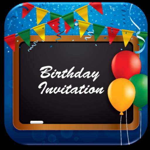 Birthday invitation card maker on google play reviews stats birthday invitation card maker icon stopboris Images