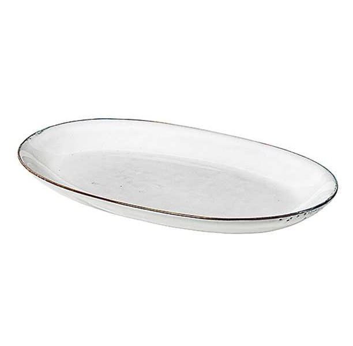 Nordic sand oval tallrik 29x16,5