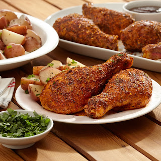 Zesty BBQ Drumsticks.