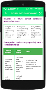 English Tenses Book- screenshot thumbnail