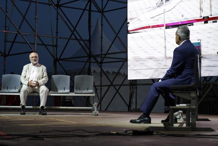 El acto incluyó una charla con el ingeniero Francisco García Calvo.