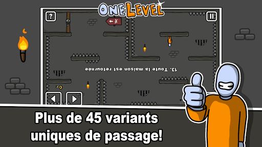 One Level: Stickman Jailbreak  captures d'écran 2