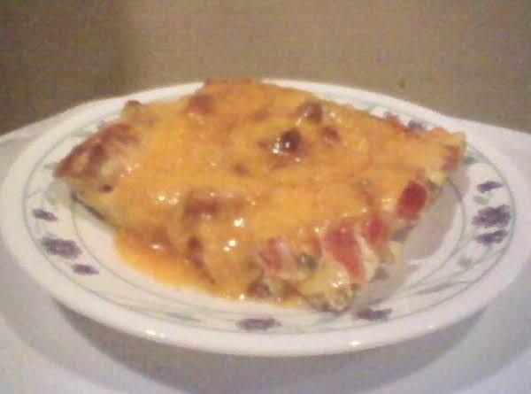 Super Sunday Blt Egg Bake