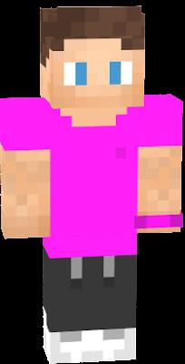 De roze skin van Larsvdp