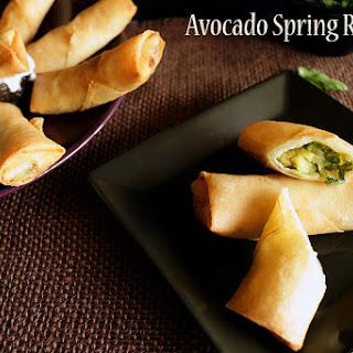 Avocado Spring Roll
