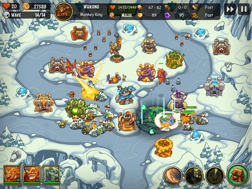 Empire Warriors: Tower Defense TD Strategy Games - screenshot