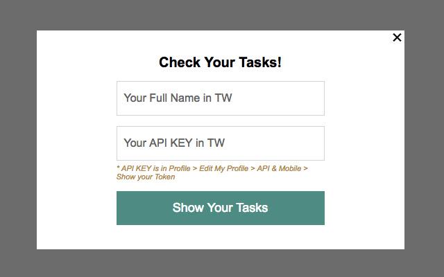 Your TeamWork Tasks