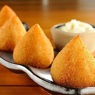 Fried Chicken Cheese Balls.