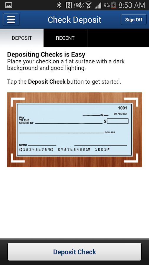Decorah & Cresco Bank- screenshot