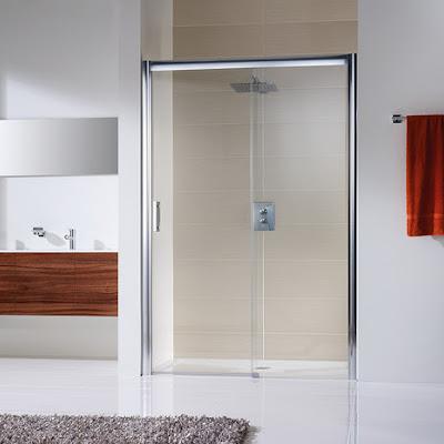 Duschkabinen_Solida - Gleittür Nische, 2-teilig