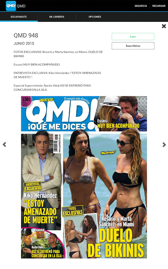 QMD Revista- screenshot
