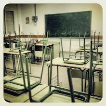 Photo: Aula vacía