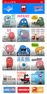 Heart and Brain Sticker Pack App 2