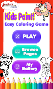 Kids Paint: Easy Coloring Game- screenshot thumbnail