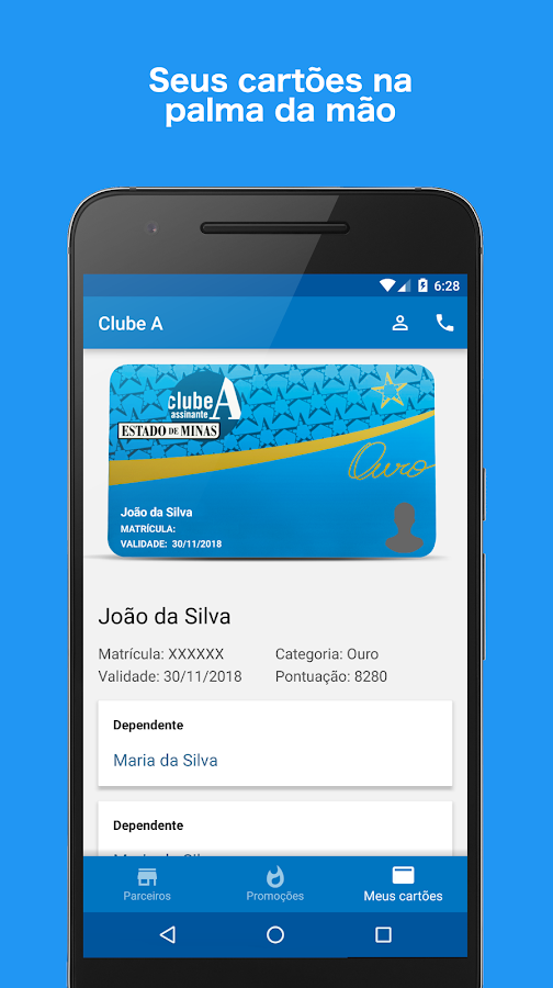 Clube A - Estado de Minas- screenshot