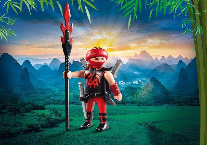 Contenido real de Playmobil® 9335 Ninja