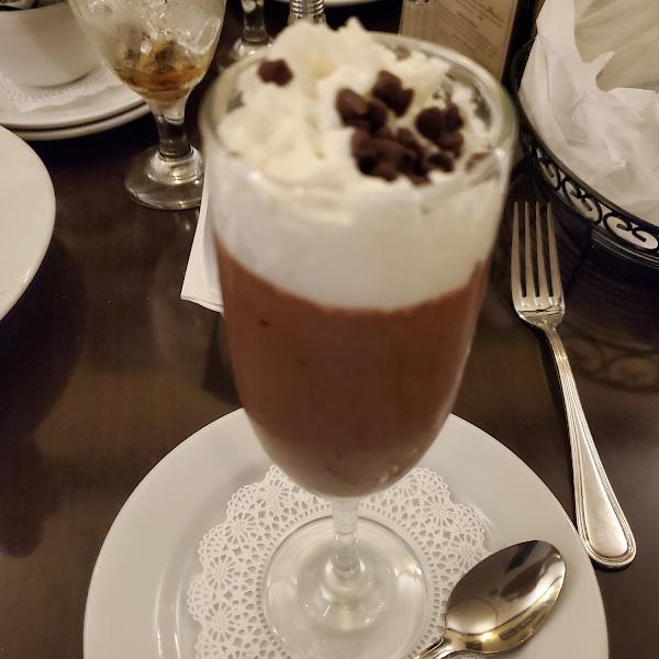 GF chocolate mousse!
