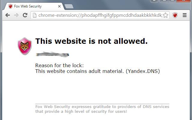 Fox Web Security
