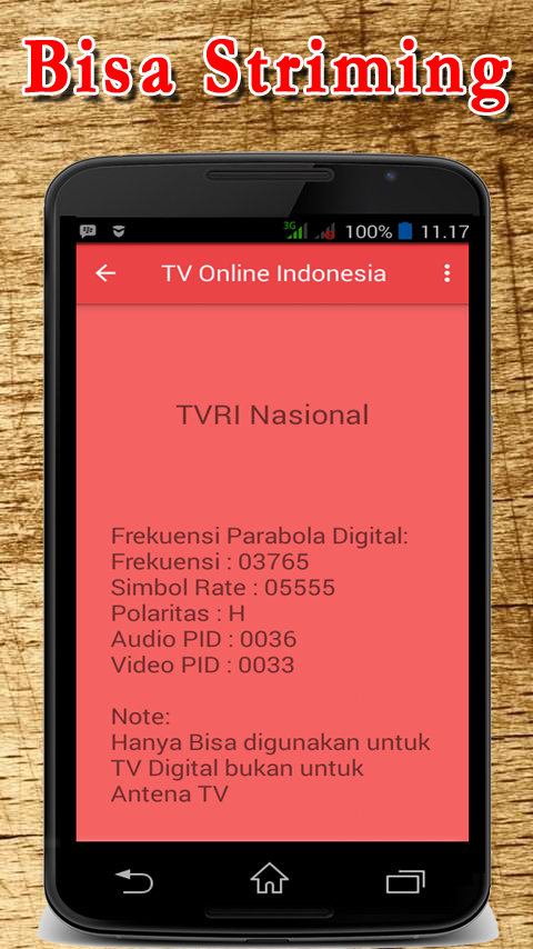 tv online indonesia - android apps on google play - Mobile Tv Indonesia