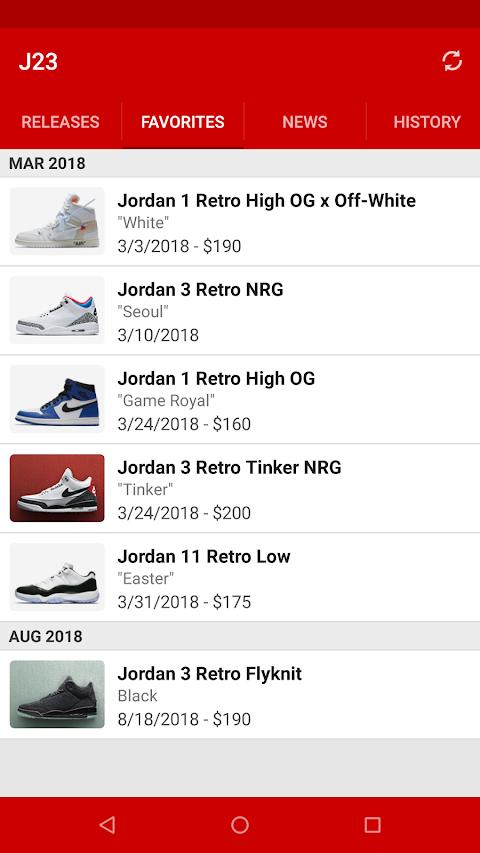 J23 - Jordan Release Dates & Restocksのおすすめ画像3