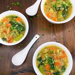 Cauliflower Vegetable Soup Recipes.