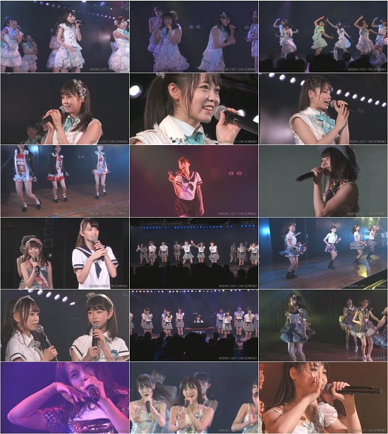 (LIVE)(720p) AKB48 あおきー 「世界は夢に満ちている」公演 Live 720p 170919