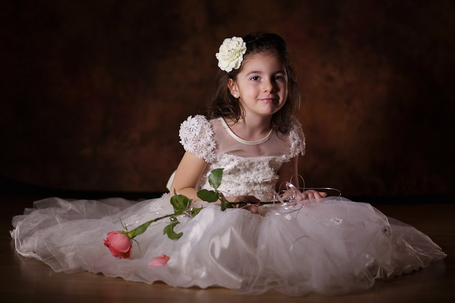 Little dress by Nicu Buculei - Babies & Children Child Portraits ( girl, wedding, dress, children, kids, portrait,  )